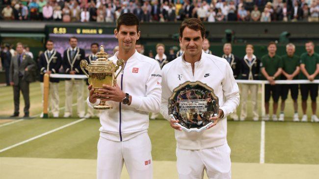 Djokovic-Federer-premiazione