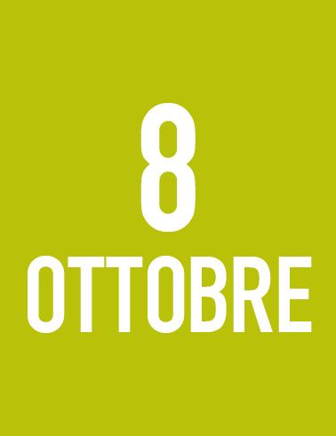Venerdì 8 Ottobre