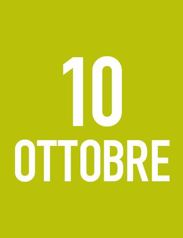 Domenica 10 Ottobre